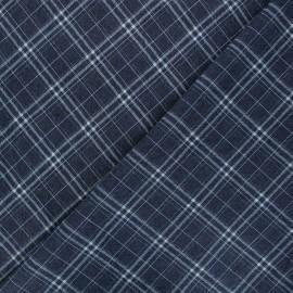 Tissu jeans fluide élasthanne Gaston - bleu foncé x 10cm