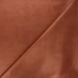 Suede elastane fabric - camel Hazel x 10cm
