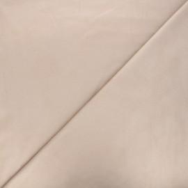 Tissu suédine élasthanne Hazel - sable x 10cm