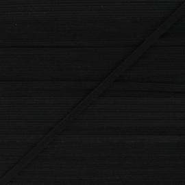 Flat elastic - black Classic x 1m