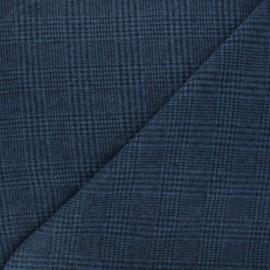 Tissu drap manteau léger Flynn - bleu x 10cm