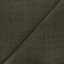 Light coat sheet fabric - khaki Flynn x 10cm