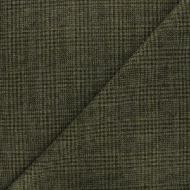 Tissu drap manteau léger Flynn - kaki x 10cm