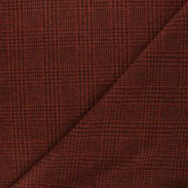 Tissu drap manteau léger Flynn - tomette x 10cm