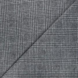 Tissu drap manteau léger Flynn - gris x 10cm