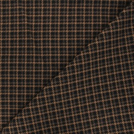Tissu bengaline Harper - camel x 10cm