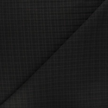 Tissu bengaline Harper - taupe x 10cm