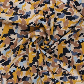 Radiance by Penelope® viscose fabric - sand Camo x 10cm