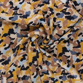 Tissu viscose Radiance Camo by Penelope® - sable x 10cm