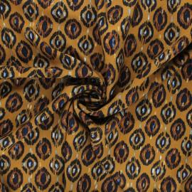 Lurex viscose fabric by Penelope® - camel Sarah x 10cm