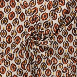 Lurex viscose fabric by Penelope® - sand Sarah x 10cm