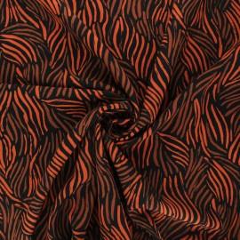 By Penelope® elastane viscose fabric - black Gabriella x 10cm