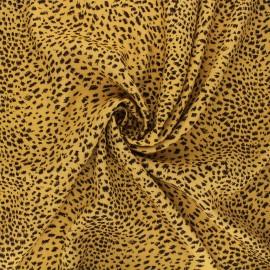 Viscose fabric - curry yellow Rafaela x 10cm
