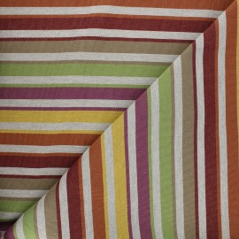 Outdoor canvas fabric - Yellow Baya x 10cm