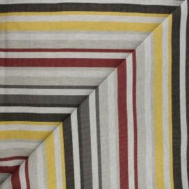 Outdoor canvas fabric - grey Baya x 10cm