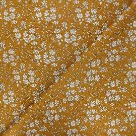 Tissu Liberty Capel moutarde x 10cm