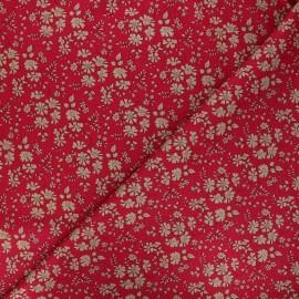 Tissu Liberty Capel rouge x 10cm
