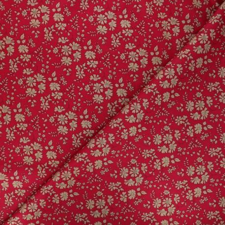 Tissu Liberty Capel rouge