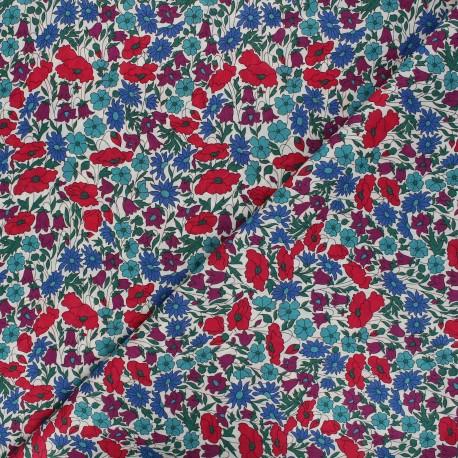 Liberty Poppy and daisy N  fabric x 10cm