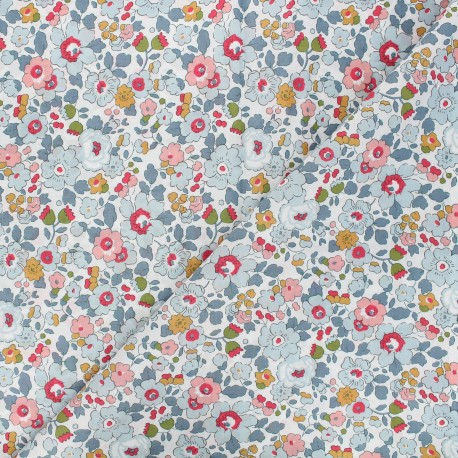 Fabric Liberty Betsy Porcelaine x 10cm