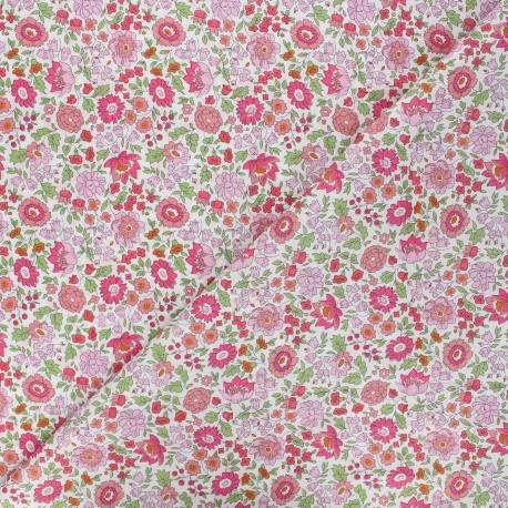 Fabric Liberty Danjo C rose x 10cm