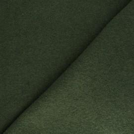 Boiled wool - green moss x 10cm