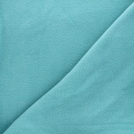 Tissu Polaire - bleu givrée x 10cm