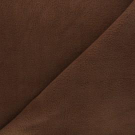 Tissu Polaire café x10cm