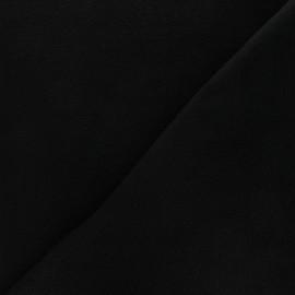 Tissu Polaire noire x 10cm