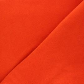 Tissu Polaire orange x 10cm