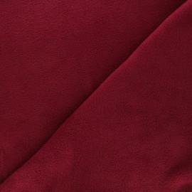 Tissu Polaire prune x10cm
