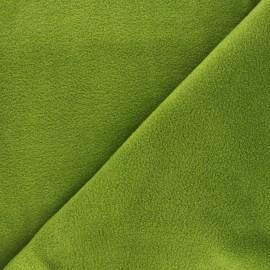 Tissu Polaire vert mousse