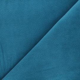 Tissu Polaire - bleu paon x 10cm