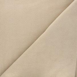 Tissu Polaire beige clair