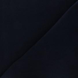 Tissu Polaire bleu nuit x10cm
