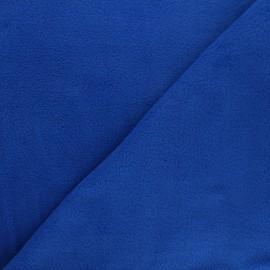 Tissu Polaire bleu navy