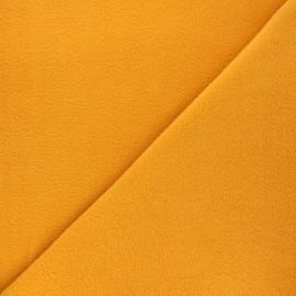 Tissu Polaire jaune soleil x10cm