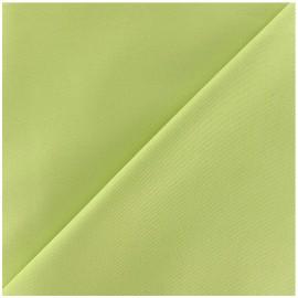 Tissu Gabardine coton anis x 10cm