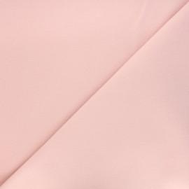 Tissu drap manteau - rose clair x 10cm