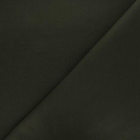 Tissu drap manteau vert profond x 10cm