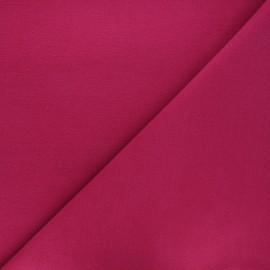 Coat wool fabric - fuchsia x 10cm