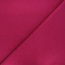 Tissu drap manteau - fuchsia x 10cm