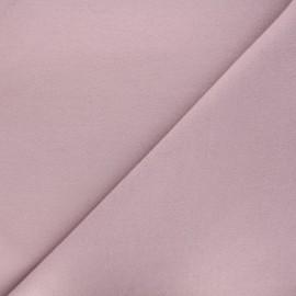Tissu drap manteau vieux rose x 10cm
