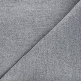Coat sheet fabric - light grey x 10cm