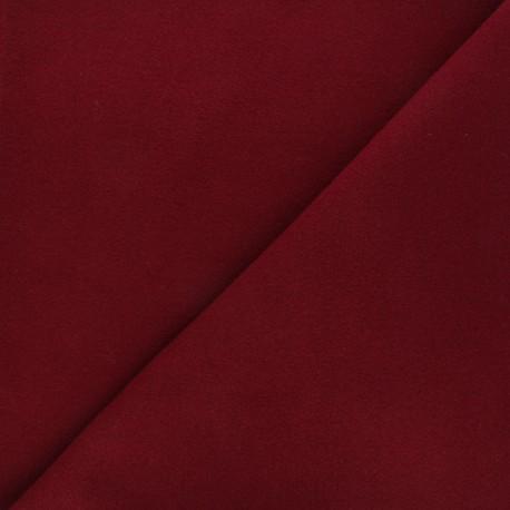 Tissu drap manteau beige foncé x 10cm