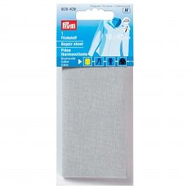Pièce thermocollante Prym pour coton - gris clair