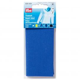 Pièce thermocollante Prym pour coton - bleu moyen