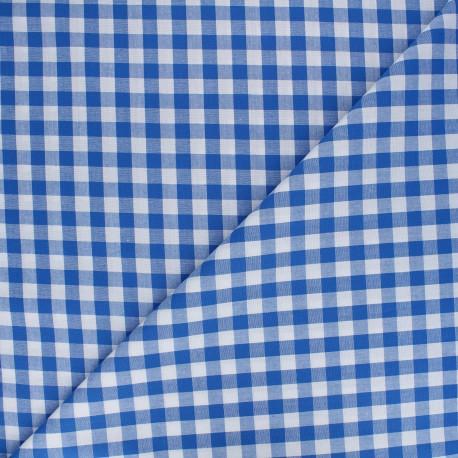 Big checked Vichy fabric - navy x 10cm
