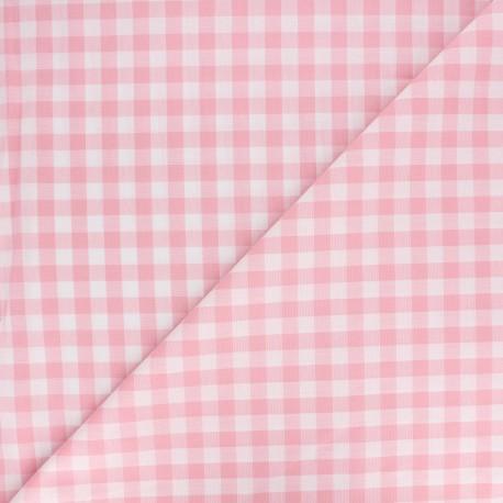 Vichy grands carreaux rose