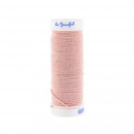 fil elastique rose